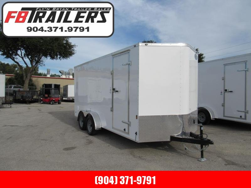 2019 Continental Cargo 7x16 with 6 In Additional Interior HT Cargo Trailer