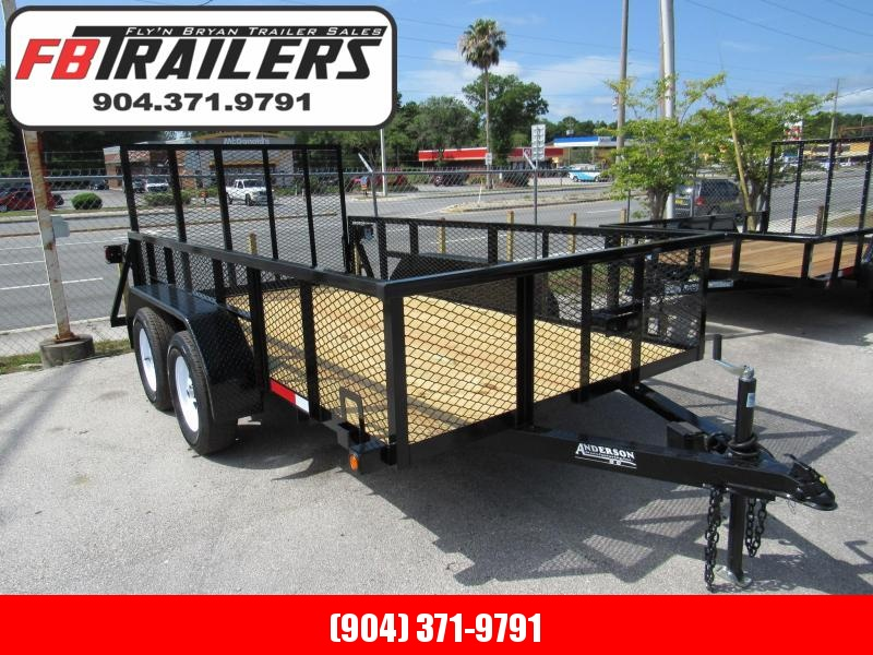 2020 Anderson Manufacturing 6X2 Tandem Utility Trailer