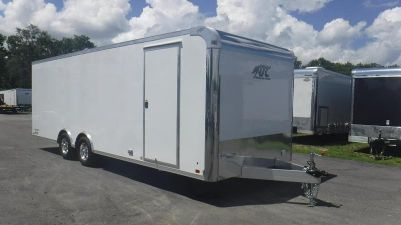 2019 24' ATC Raven Spread Axle Race Trailer