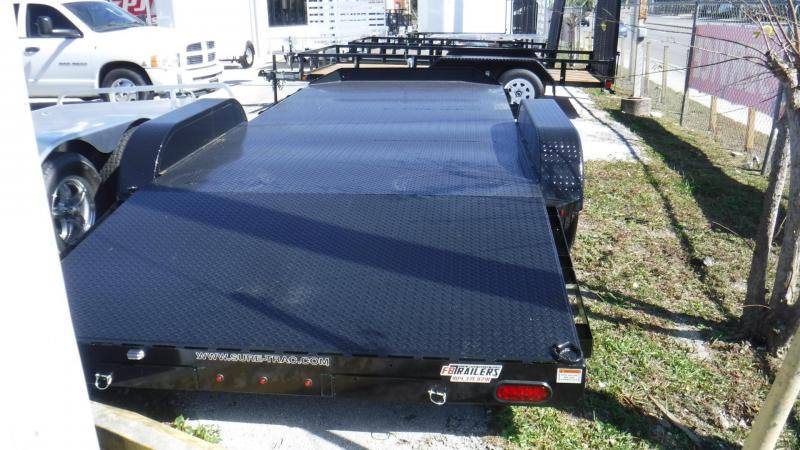 2018 7x18 Steel Deck Car Hauler by Sure Trac