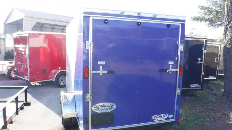 2018 6x12 Continental Cargo NS Series Enclosed Cargo Trailer