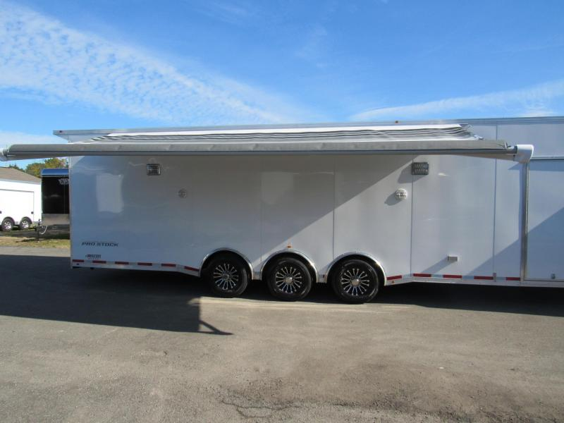 2019 34' PRO STOCK Race Trailer LOADED BY Vintage