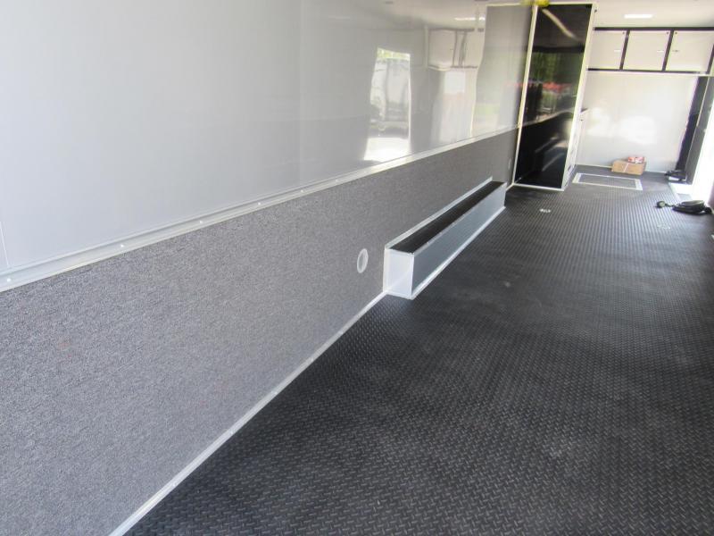 2019 Cargo Mate 34 Aluminum Frame Car / Racing Trailer