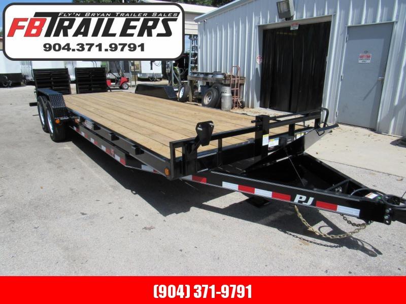 2020 PJ Trailers 24 ft Equipment/Car Hauler Equipment Trailer