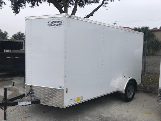 2019 6x12 LE Model Enclosed Cargo Trailer by Continental Cargo