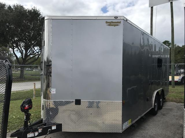 2018 8.5 x 18 Toy Hauler by Continental Cargo