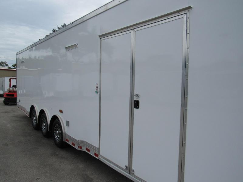 2019 32' Spread Axle  Eliminator  Racing Trailer by Cargo Mate