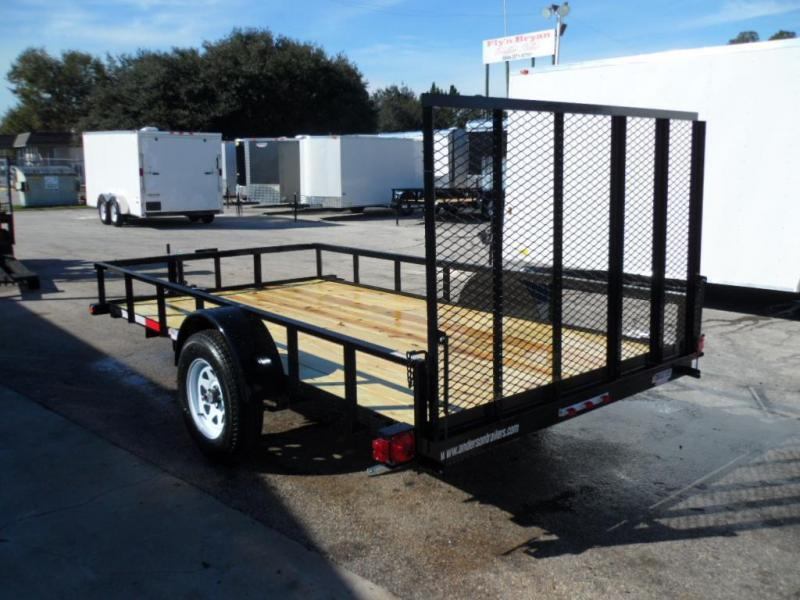 2017 6x12 Open Utility Trailer By  Anderson Manufacturing