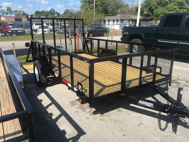 2019  6x12 Open Utility Trailer with 2' Mesh Sides by Anderson Mfg
