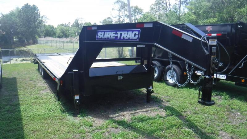 2018 Sure-Trac GN 205 Equipment Trailer