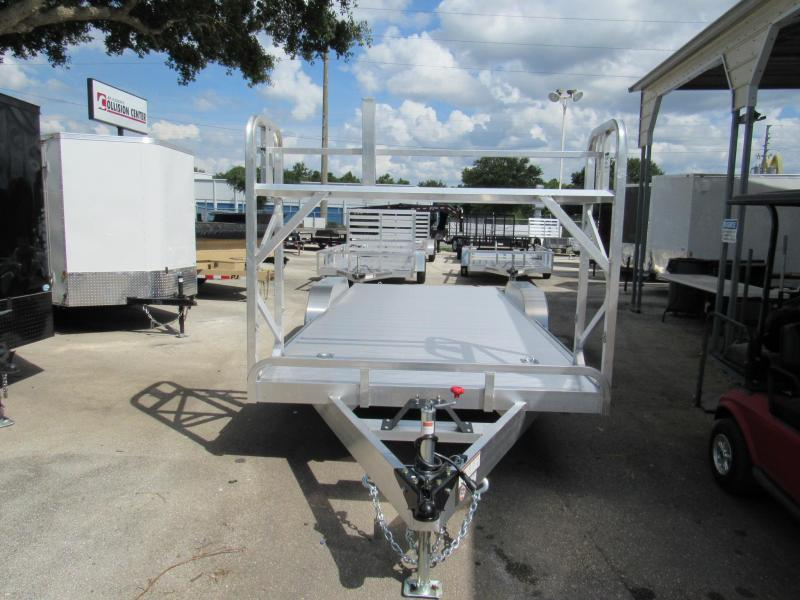 2019 20' Open  All Aluminum Car Trailer by ATC