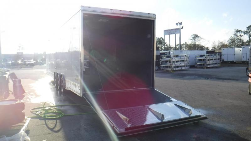 2018 34' Spread Axle Cargo Mate Eliminator Triple 6000 # Axl