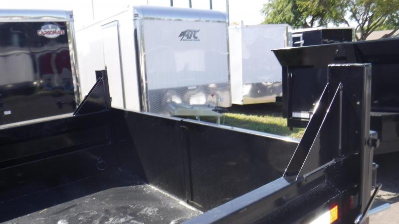 2018 7X12 Sure-Trac Dump Trailer Dump Trailer