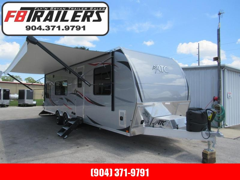 2019 ATC 28ft Front Bedroom Toy Hauler 5.5K Onan and Fueling Station
