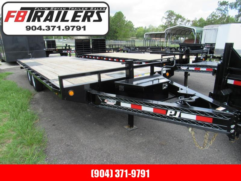 2020 24ft Deckover Power Tilt Equipment Trailer