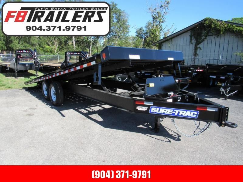 2019 Sure-Trac 102X22 Tilt Equipment Trailer