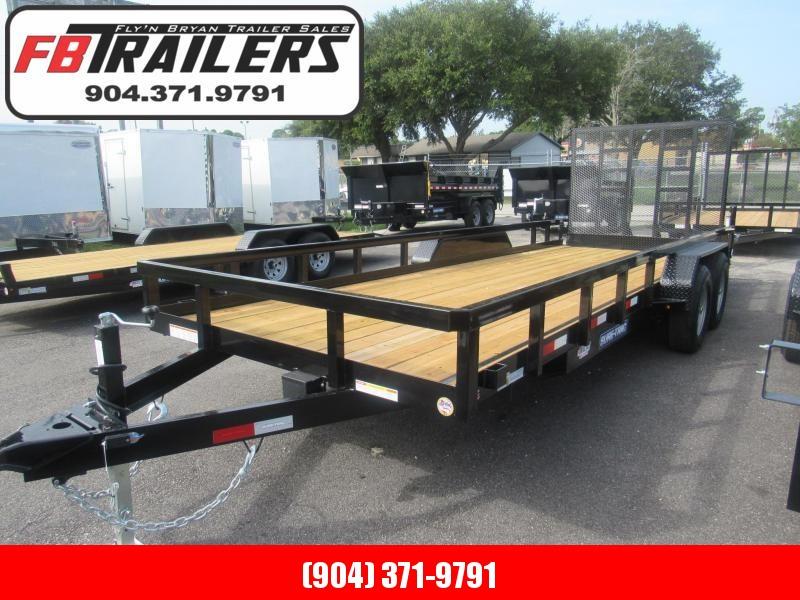 2020 Sure-Trac 7X20 HD Contractors Utility Trailer