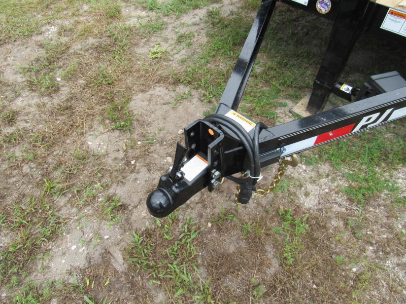 2019  20 ft HD Slide in Ramps Equipment Trailer BY PJ TRAILERS