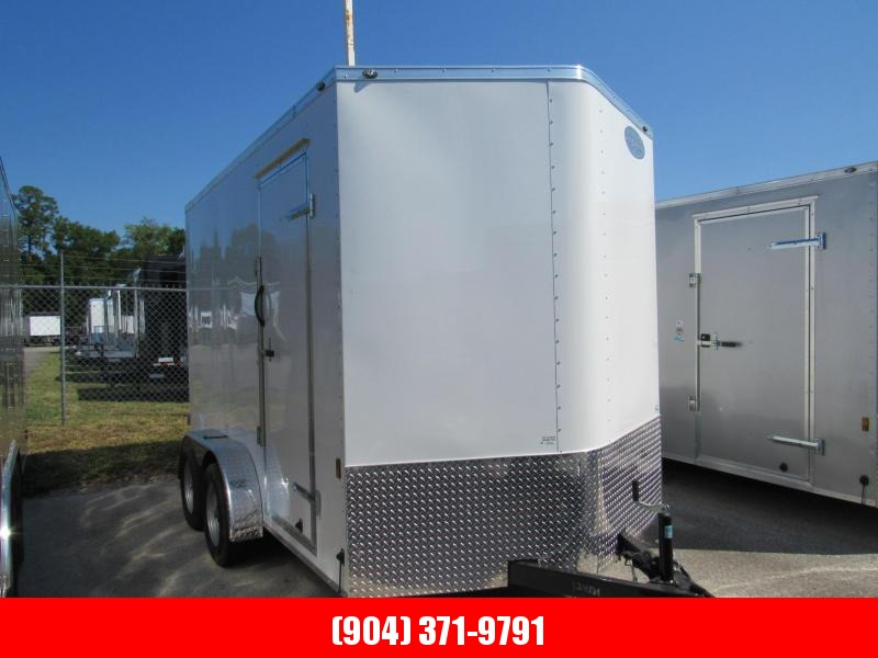 2020 Continental Cargo 7X12 with 12inches Additional HT Enclosed Cargo Trailer
