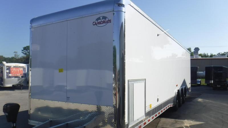 2019 34' Aluminum Frame Eliminator Race Trailer by Cargo Mate