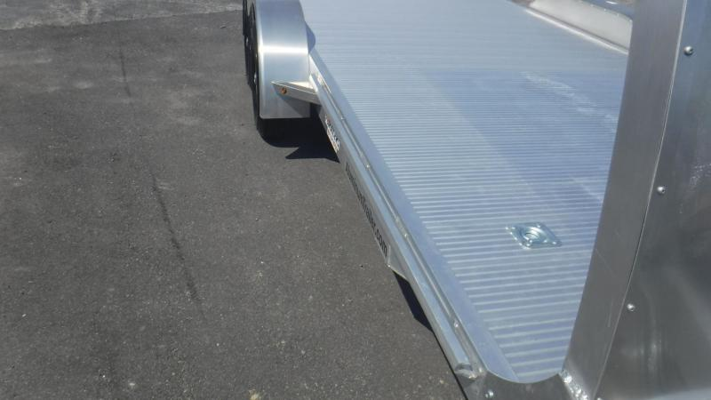 2019 18' All Aluminum Open With Air Dam Car Trailer by ATC