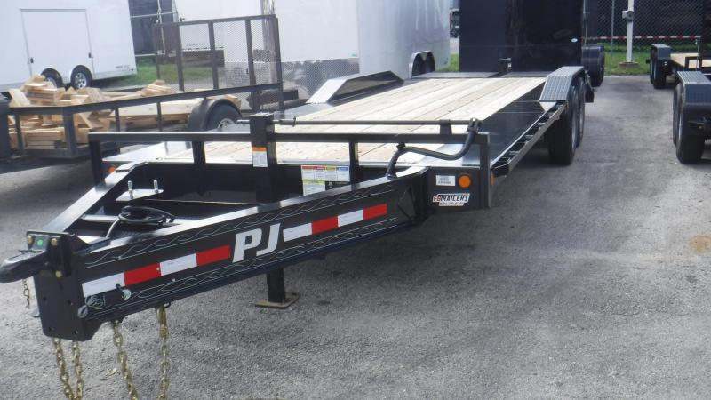 2019 24' H7 PRO BEAM Super Wide Equipment Equipment Trailer by PJ Trailers