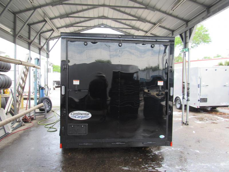 2020 Continental Cargo 7x14 Black Out Enclosed Cargo Trailer