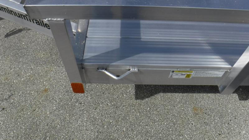 2018 5x10  Aluminum Open Utility  Trailer by ATC
