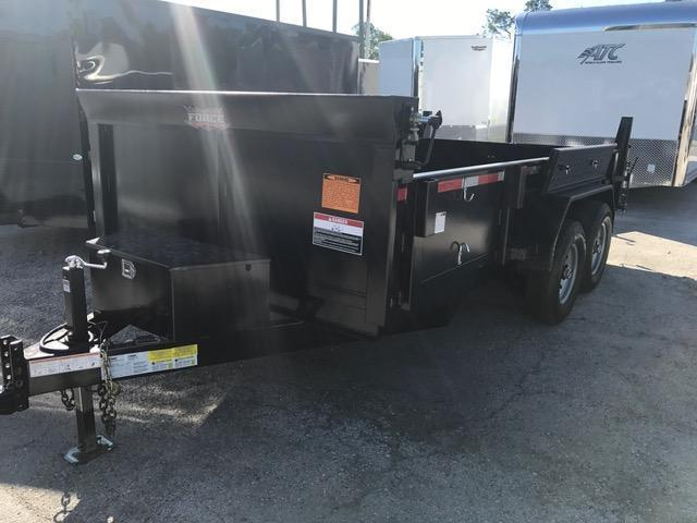 2017 7x14 7 Ton Force Dump Trailer by Forest