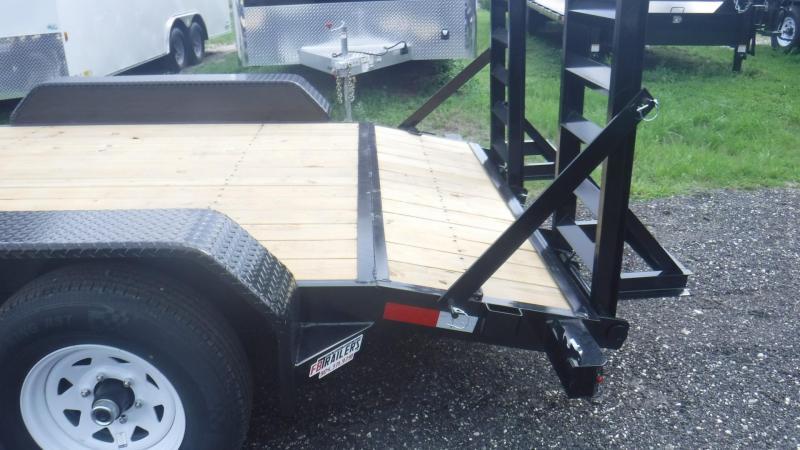 2018 Sure-Trac ST81161T-B-100 Equipment Trailer