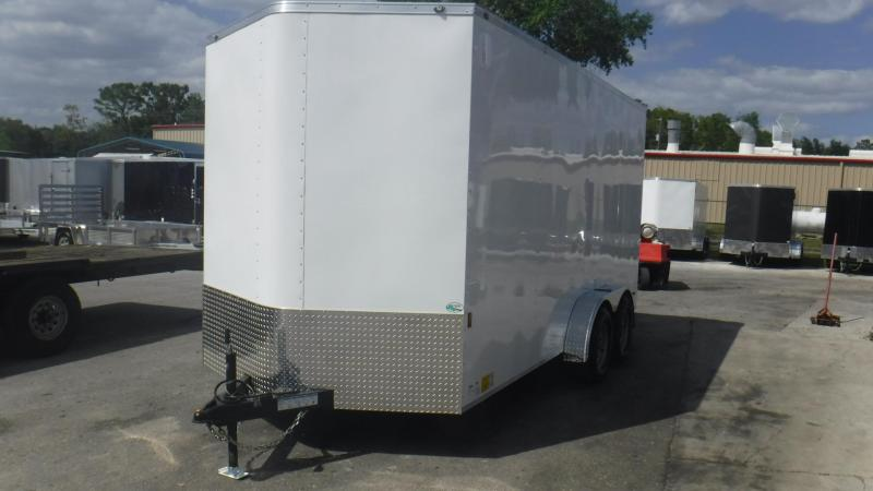 2019 Continental Cargo 7X16 12 EXTRA HEIGHT Enclosed Cargo Trailer