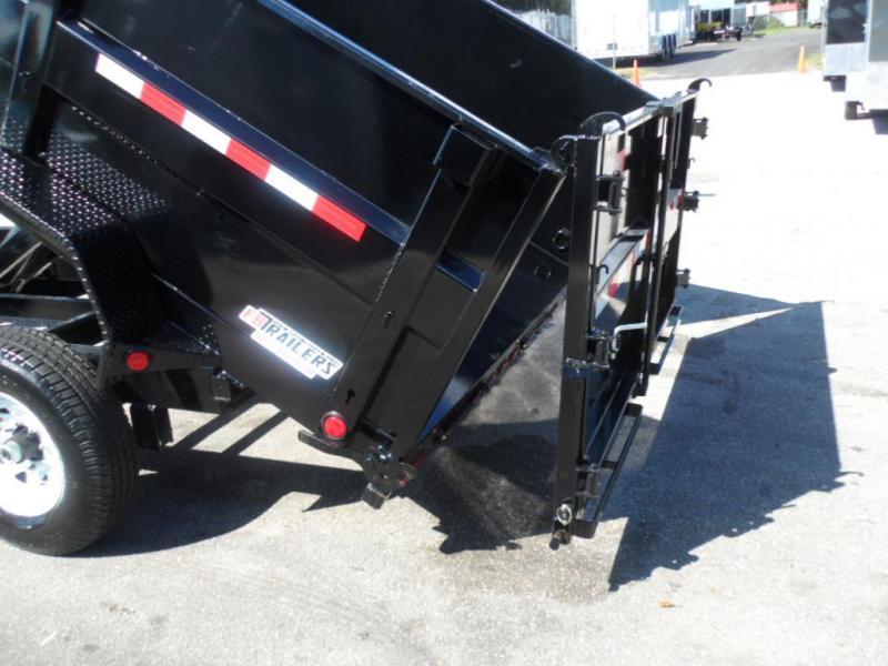 2018 PJ 7x14 4' High Side Dump Trailer