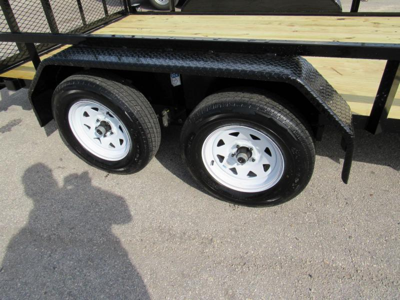 2020 Anderson Manufacturing 7X14 Utility Trailer