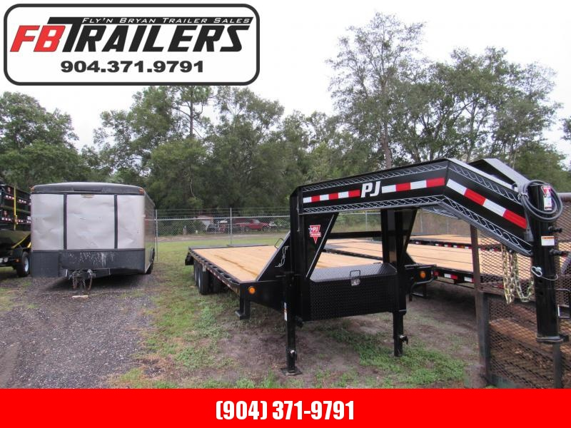 2019 30' PJ Equipment Trailer 25 Plus 5 With Monster Ramps
