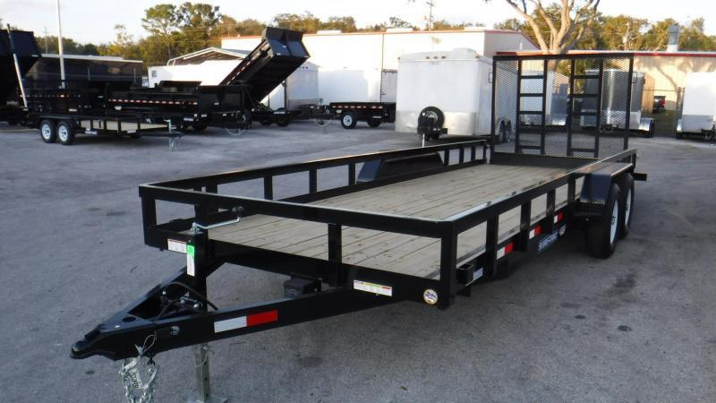 2019 Sure-Trac 7x20 HD UTILITY/EQUIPMENT TRAILER Utility Trailer