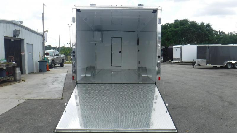 2019   Living Quarters Race Trailer/Toy Hauler 8.5x38'