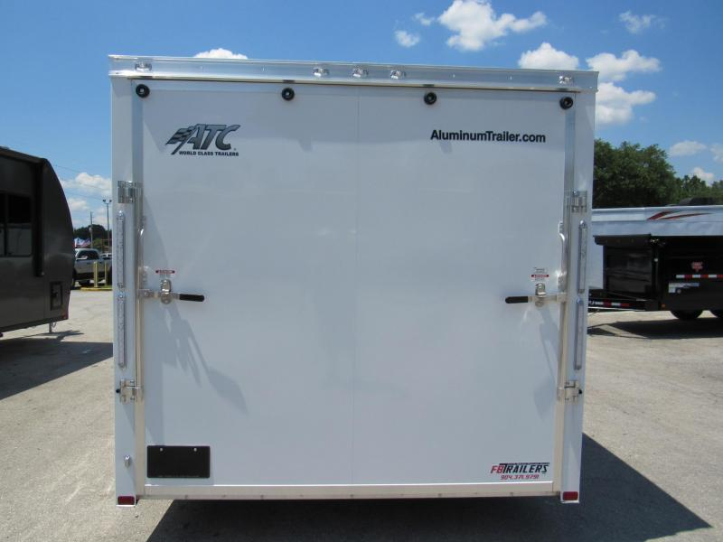 2020 ATC 20ft with Premium Escape Door Car / Racing Trailer