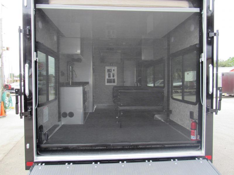 2019 ATC 8.5X25 Front Bedroom Toy Hauler