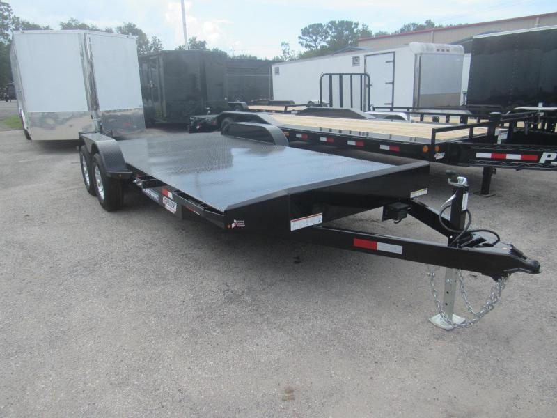 2019 Sure-Trac 20ft Steel Deck Car Hauler