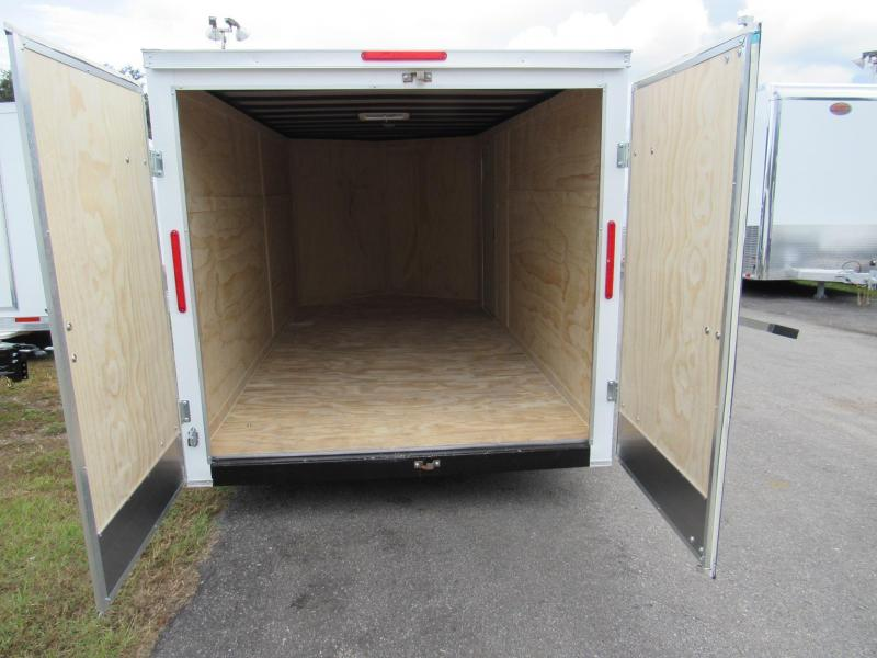 2019 Freedom Trailers 7X14 with Cargo Doors Enclosed Cargo Trailer