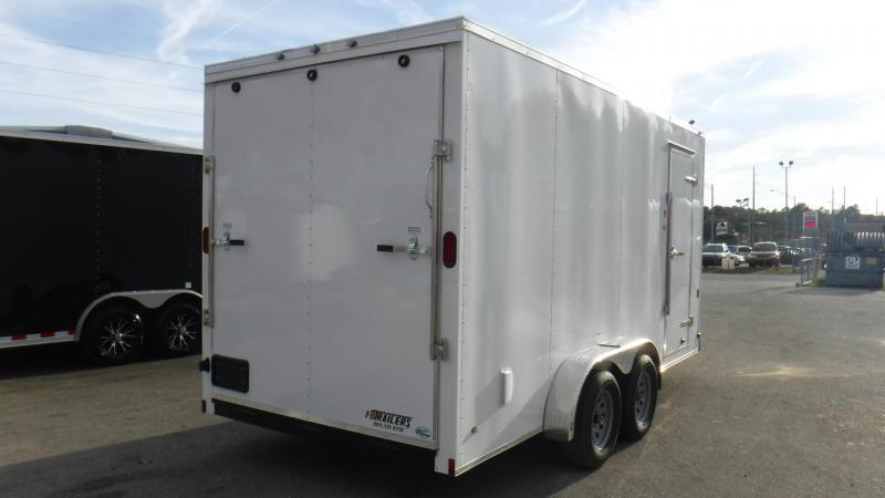 2018 7x16 Enclosed Cargo Trailer By Continental Cargo