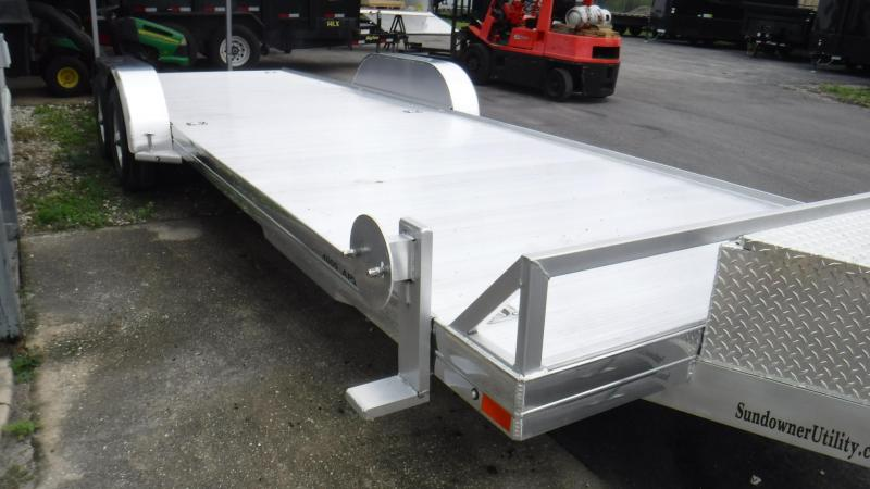 2019 24' AP4000 All Aluminum Open Car Trailer by Sundowner Trailers