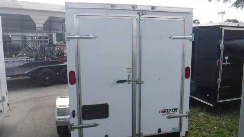 2019 6x12 Enclosed Cargo Trailer by Continental Cargo
