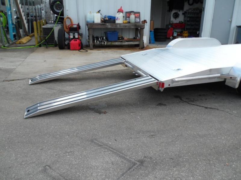 2018 82x18  Aluminum Open Car Hauler  By ATC
