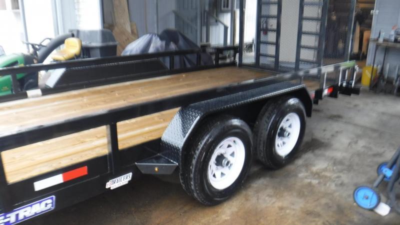2018 Sure-Trac ST8220TAT-B-100 Utility Trailer