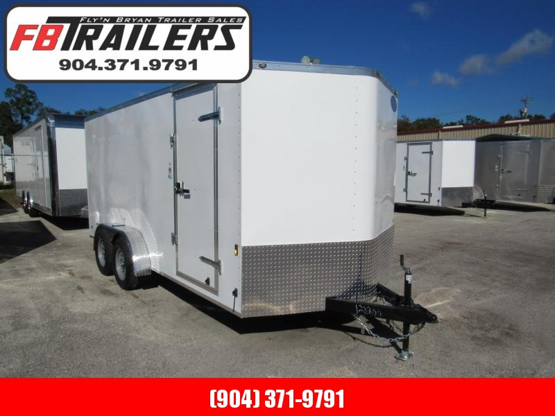 2020 Continental Cargo 16 Ramp Door and Side Door Enclosed Cargo Trailer