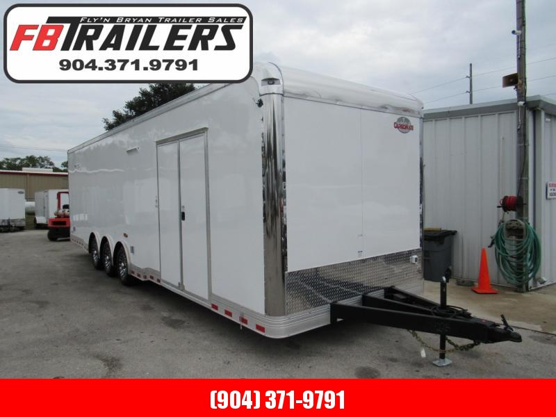 2019 32' Cargo Mate Eliminator Spread Axle Trailer