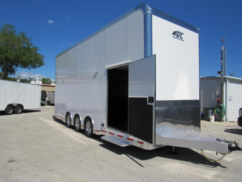 2019 ATC 26ft All Aluminum Stacker Car / Racing Trailer