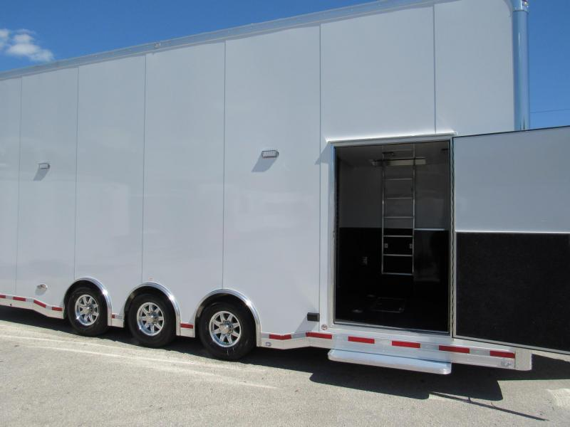 2019 ATC 26ft All Aluminum Stacker Car / Race Trailer (Only Weights 7292LBS)