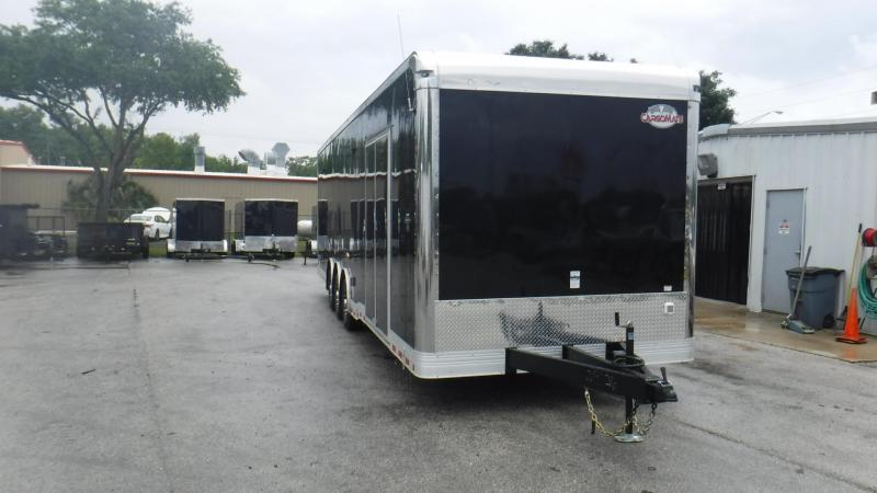 2018 32' Cargo Mate GAEL8.532TTA4 Car / Racing Trailer